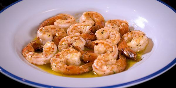 Shrimply the best from menu at Lola's restaurant in Tyler Texas