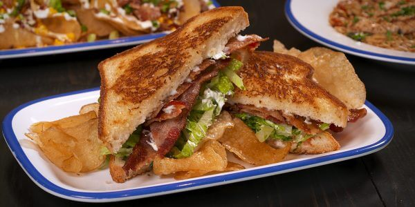 blt sandwich from the menu at Lola's restaurant, Tyler TX