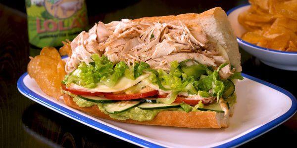 Sandwich Heaven can wait from Lola's restaurant in Tyler Texas
