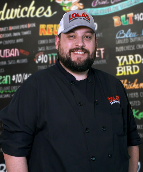 Mike, manager from Lola's handcrafted sandwiches Tyler Texas