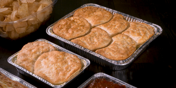 chicken pot pie from Lola`s handcrafted sandwiches Tyler Texas