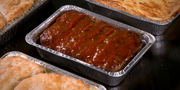 Meatloaf from Lola's handcrafted sandwiches Tyler Texas