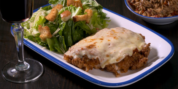 Chicken parm to order from Lola's sandwiches in Tyler Texas